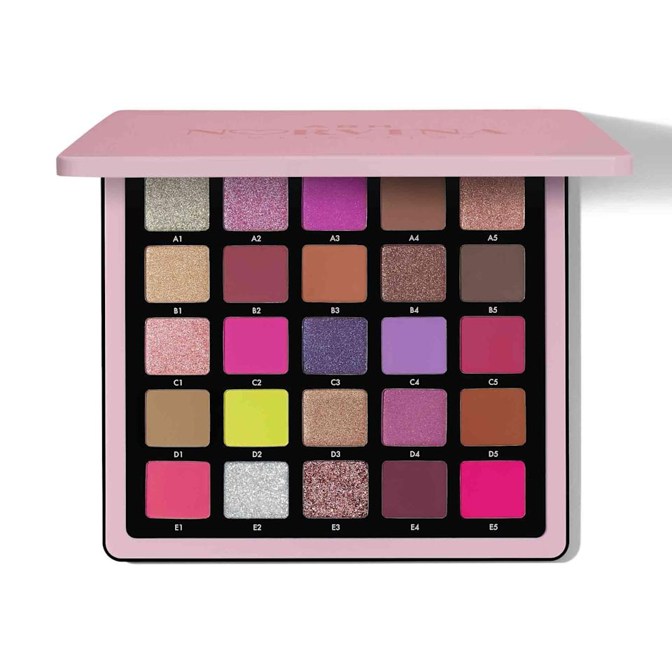 "<p>""I love the Anastasia Beverly Hills Norvina Pro Pigment Palette Vol. 4 for a few reasons. It's one of those rare palettes where I could picture myself wearing each shade right off the bat (which is impressive, considering it has 25 shades). Some of the shimmery, multidimensional colors are unlike any that I currently own in my expansive <a href=""https://www.allure.com/gallery/best-eyeshadow-palette?mbid=synd_yahoo_rss"" rel=""nofollow noopener"" target=""_blank"" data-ylk=""slk:eye shadow collection"" class=""link rapid-noclick-resp"">eye shadow collection</a> — and they look stunning when worn alone. And finally, the pink, purple, and mauve shades, which are the hues I tend to use the most, complement each other so well when paired and blended together."" — <em>Sarah Han, senior commerce writer</em></p> <p><strong>$60</strong> (<a href=""https://shop-links.co/1715033717724161859"" rel=""nofollow noopener"" target=""_blank"" data-ylk=""slk:Shop Now"" class=""link rapid-noclick-resp"">Shop Now</a>)</p>"