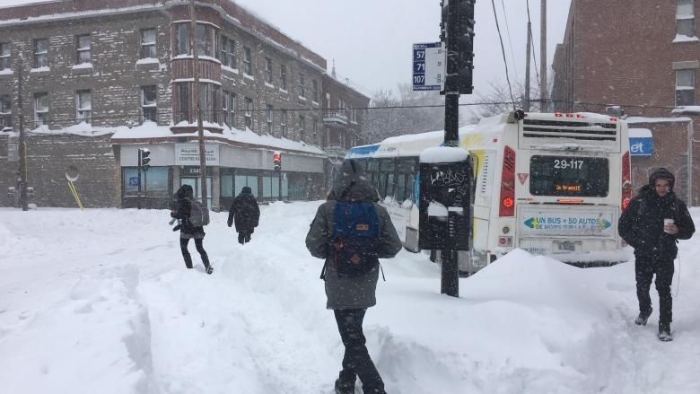 Your photos of Montreal buried under mountain of snow