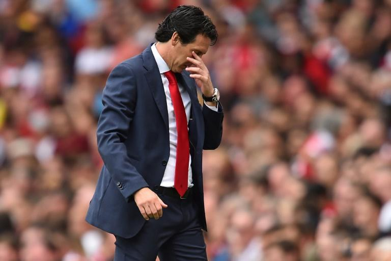 Unai Emery was handed a difficult start as Arsenal manager
