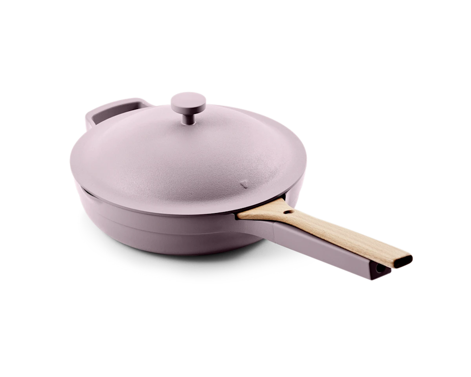"""<h3>Our Place Always Pan</h3><br>Outside of a Le Creuset, we never dreamed a stovetop staple could achieve such fame. But the Always Pan has taken Instagram by storm. Our Place, the brand behind the millennial-friendly utility piece, is on a mission to promise ethical labor, an investment in responsible materials, and to give back to its local south L.A. community. <br><br><br><strong>Our Place</strong> Always Pan, $, available at <a href=""""https://go.skimresources.com/?id=30283X879131&url=https%3A%2F%2Ffromourplace.com%2Fproducts%2Falways-essential-cooking-pan"""" rel=""""nofollow noopener"""" target=""""_blank"""" data-ylk=""""slk:Our Place"""" class=""""link rapid-noclick-resp"""">Our Place</a>"""