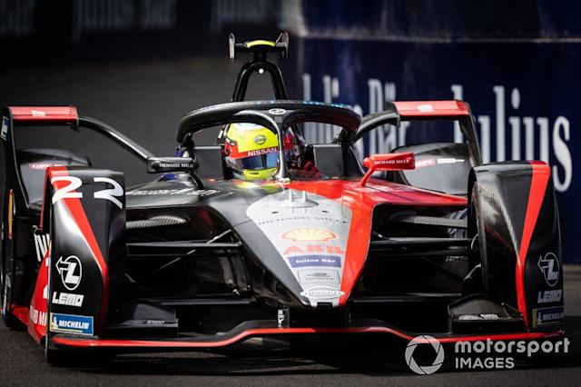 """Oliver Rowland, Nissan e.Dams, Nissan IMO2 <span class=""""copyright"""">Simon Galloway / Motorsport Images</span>"""