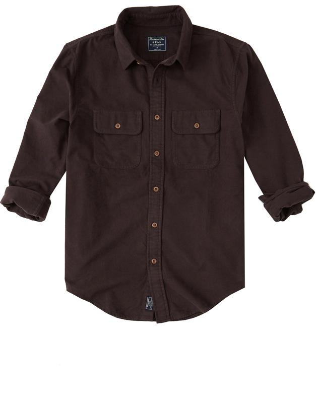 "<p><strong>Flannel Shirt</strong></p><p>Dark brown shirts look good with all that <a rel=""nofollow"" href=""http://www.esquire.com/style/mens-fashion/g12437885/mens-camel-clothes-accessories/"">camel</a>.</p><p><em>$58, <a rel=""nofollow"" href=""https://www.abercrombie.com/shop/us/p/flannel-shirt-10310849?categoryId=6570709"">abercombie.com</a></em></p><p><a rel=""nofollow"" href=""https://www.abercrombie.com/shop/us/p/flannel-shirt-10310849?categoryId=6570709"">SHOP</a><br></p>"