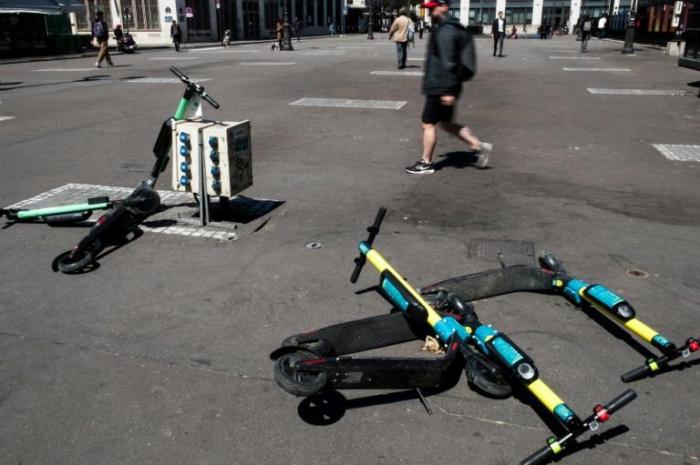 Shared scooters have become part of life in cities around the world, but they have often been criticized for littering sidewalks and posing a danger to pedestrians