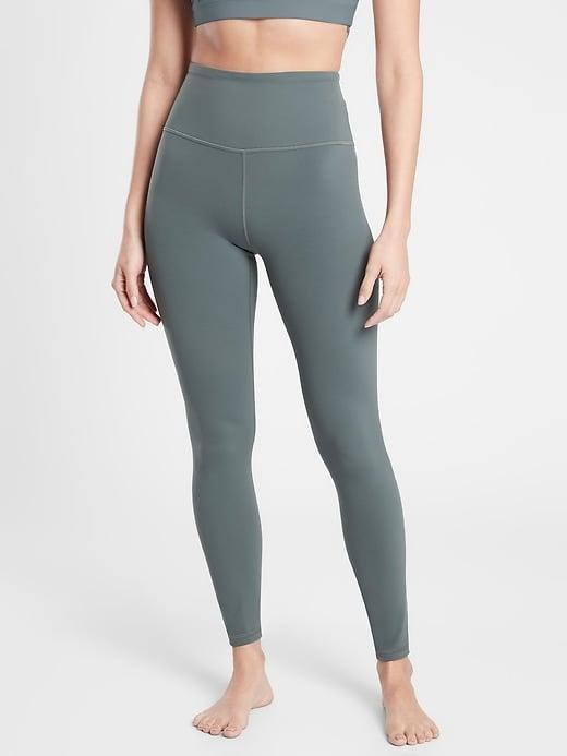 <p>We love how high the smoothening waistband is on the <span>Athleta Ultra High Rise Elation Tight</span> ($70-$89, originally $89).</p>