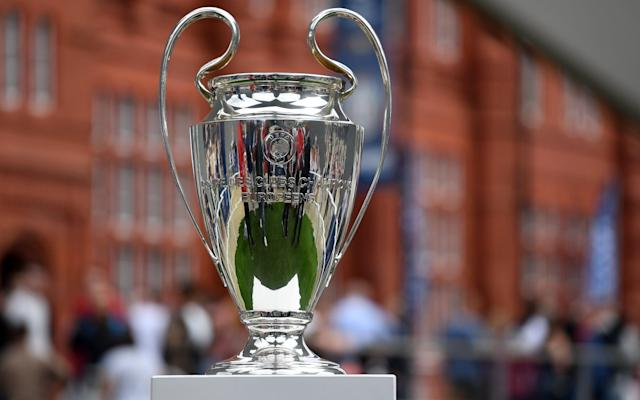 Can one of the Premier League teams get their hands on this trophy? - EPA