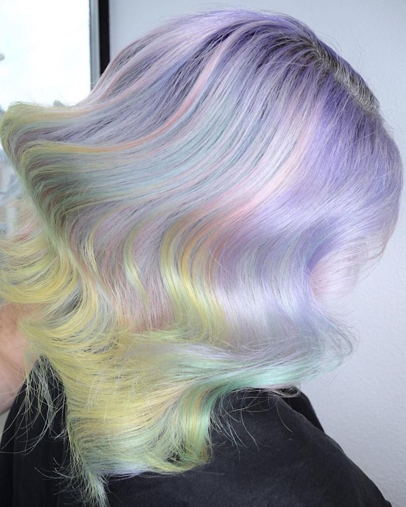 These Stylists Created Peeps-Inspired Pastel Hair Color for ...