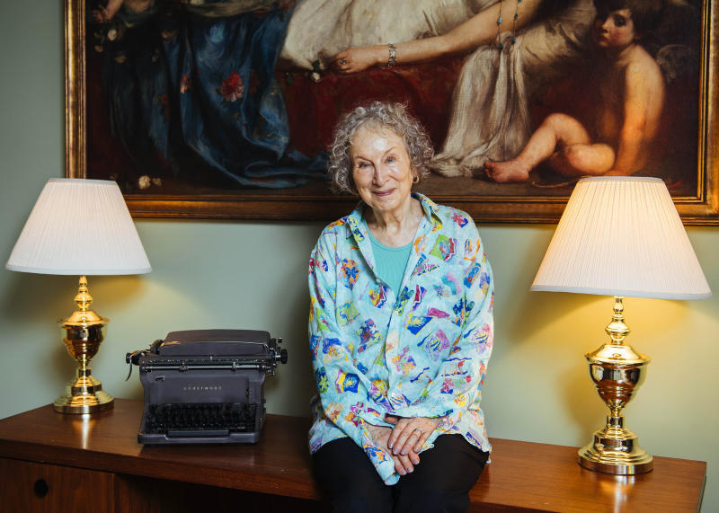 Margaret Atwood Portrait Session