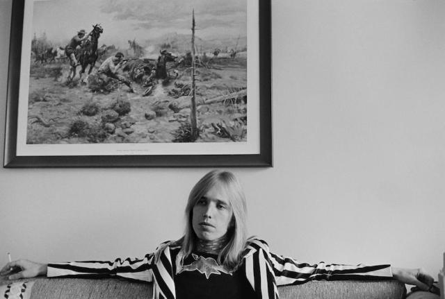 Tom Petty in 1977. (Photo by Michael Putland/Getty Images)
