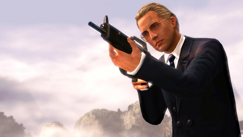 "This undated publicity image provided by Activision Publishing Inc. shows Max Zorin from the ""GoldenEye 007: Reloaded"" video game. When the original game debuted in 1997, the shoot-'em-up based on Pierce Bronson's first Bond outing revolutionized the first-person shooter genre by pioneering how virtual sniper rifles work and setting the standard for multiplayer matches long before ""Halo"" and ""Call of Duty."" (AP Photo/Activision Publishing, Inc.)"