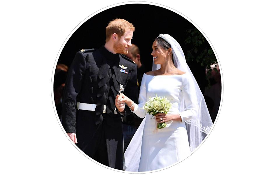 The Sussexes marry at Windsor in May 2018