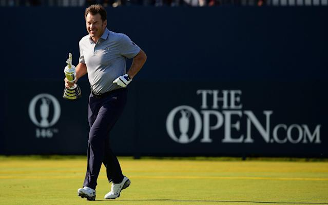 Is this the only way an Englishman is going get their hands on the Claret Jug? - REUTERS