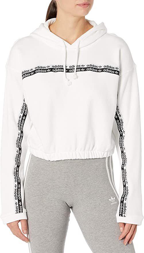 "<br><br><strong>Adidas Originals</strong> Cropped Sweatshirt, $, available at <a href=""https://amzn.to/2T0sThj"" rel=""nofollow noopener"" target=""_blank"" data-ylk=""slk:Amazon"" class=""link rapid-noclick-resp"">Amazon</a>"