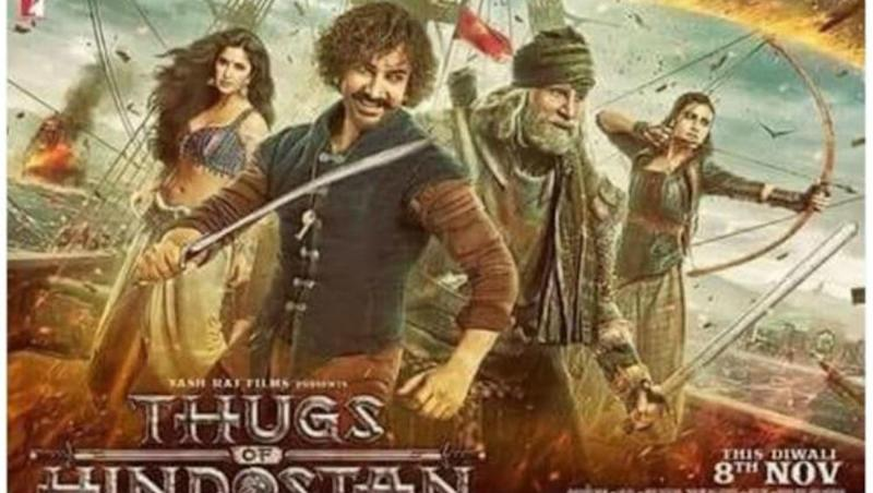 'Thugs of Hindostan' trailer: Amitabh Bachchan and Aamir Khan battle it out