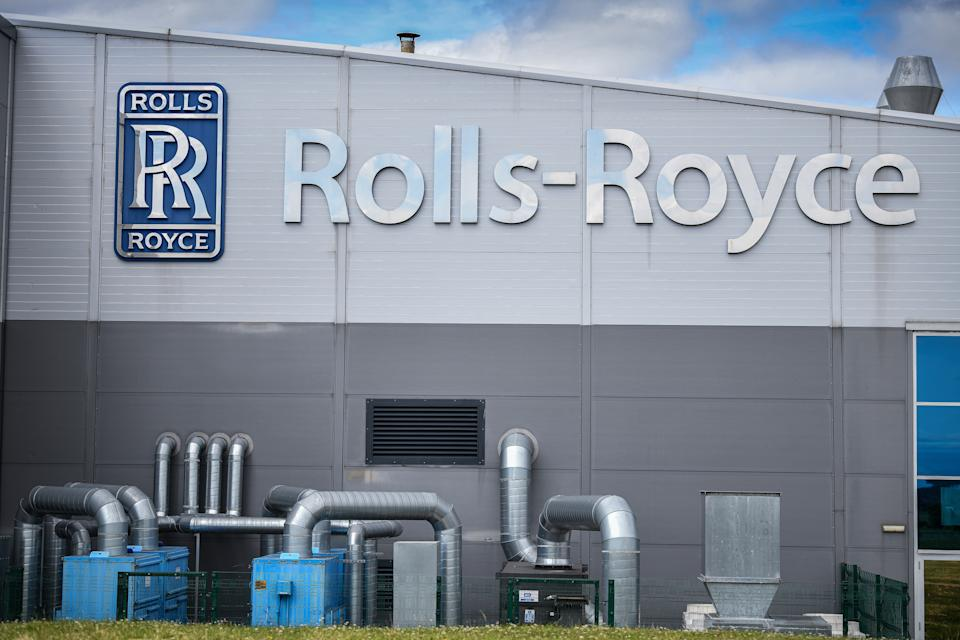 INCHINNAN, SCOTLAND - JUNE 11: A general view of the Rolls Royce Inchinan factory on June 11, 2020 in Inchinnan, Scotland. Jet engine manufacturer Rolls-Royce is expected to cut 20% of it's workforce, including 700 jobs at the Inchinnan plant, following a sharp decline in business as a result of the coronavirus outbreak. (Photo by Jeff J Mitchell/Getty Images)