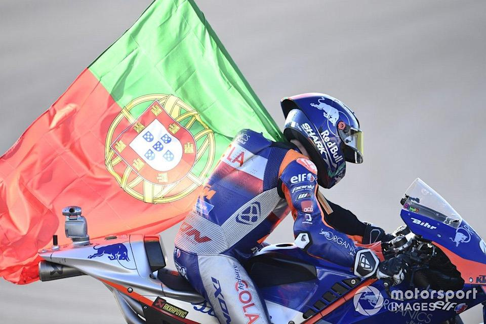 """Miguel Oliveira<span class=""""copyright"""">Gold and Goose / Motorsport Images</span>"""