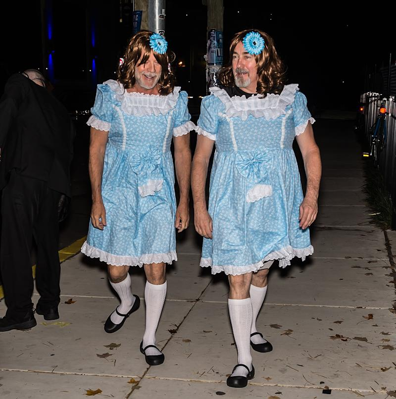 & Bruce Willis twins from The Shining halloween costume