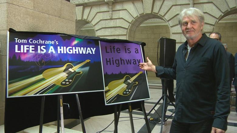 Section of Manitoba highway to be named after Tom Cochrane's 'Life is a Highway'