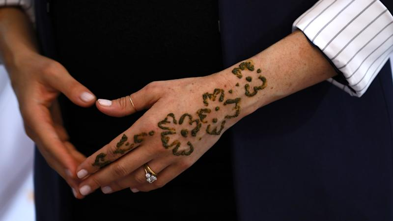 24 Henna Tattoos By Rachel Goldman You Must See: Duchess Of Sussex Gets Henna Tattoo In Moroccan Custom To
