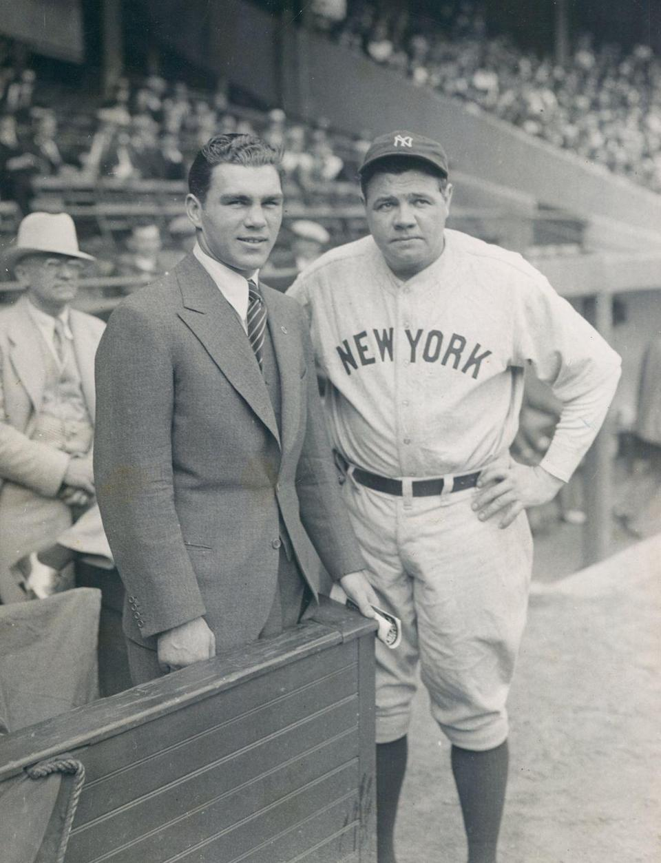 <p>Legendary Yankees like Babe Ruth and Lou Gerhig were stealing bases and American hearts that year. Ruth's real first name, George, was the No. 7 pick for boys, while Ruth was the No. 6 for girls. The top three? Still Robert, John, James, Mary, Dorothy, and Betty.</p>