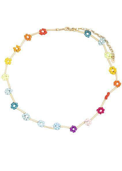 """<p><strong>Humans Before Handles </strong></p><p>humansbeforehandles.com</p><p><strong>$42.00</strong></p><p><a href=""""https://www.humansbeforehandles.com/collections/necklaces/products/wildflower-necklace"""" rel=""""nofollow noopener"""" target=""""_blank"""" data-ylk=""""slk:Shop Now"""" class=""""link rapid-noclick-resp"""">Shop Now</a></p><p>The '90s throwback necklace we all once owned is here to stay. The rainbow color scheme on this style is so pretty. </p>"""