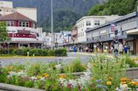 """<p>The antiques scene in Alaska centers around the state's three cities: Anchorage, Fairbanks, and Juneau. So, we consider the less populous of the three (Juneau) as Alaska's small town antiques destination. You'll find a handful of charming general-store-type shops, including <a href=""""http://www.urbaneskimo.com/"""" rel=""""nofollow noopener"""" target=""""_blank"""" data-ylk=""""slk:Urban Eskimo"""" class=""""link rapid-noclick-resp"""">Urban Eskimo</a>, which sprinkles higher-end new items into the mix.</p>"""