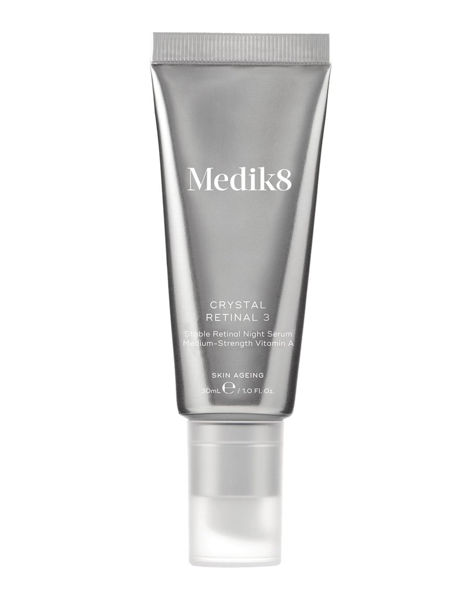 <p>Whether you're a retinol veteran or just getting started, Medik8 has a retinol for everyone. The <span>Crystal Retinal</span> ($155) range uses an encapsulated form of vitamin A for optimum absorption with minimal irritation, and the multi-award-winning formulas comes in multiple strengths to smooth, brighten, and battle against acne-causing bacteria.</p>