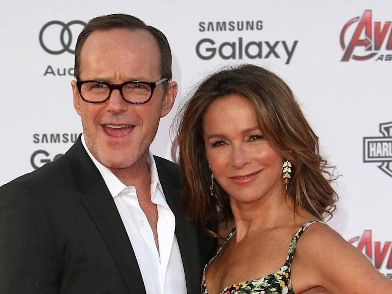 Clark Gregg files divorce papers to end Jennifer Grey marriage