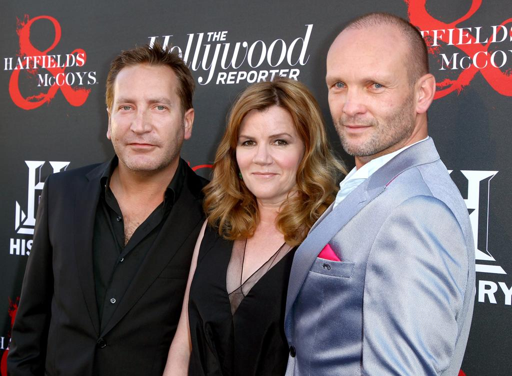 "Ronan Vibert, Mare Winningham, and Andrew Howard attend a special screening of ""Hatfields & McCoys"" hosted by The History Channel at Milk Studios on May 21, 2012 in Hollywood, California."