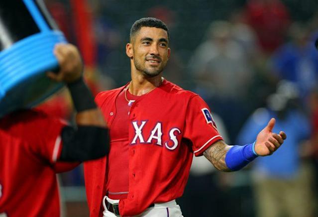 "Can <a class=""link rapid-noclick-resp"" href=""/mlb/players/8589/"" data-ylk=""slk:Ian Desmond"">Ian Desmond</a> live up to his massive contract. (Getty Images/Rick Yeatts)"