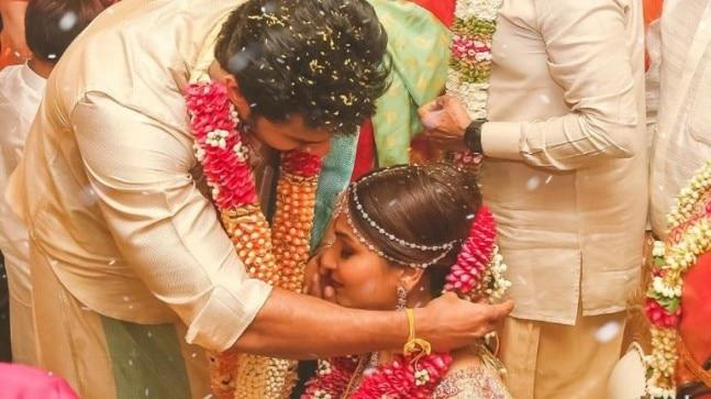 Rajinikanth and wife Latha were moved to tears as Vishagan tied the thaali (sacred thread) to their daughter Soundarya. The wedding took place on February 11 at The Leela Palace in Chennai.