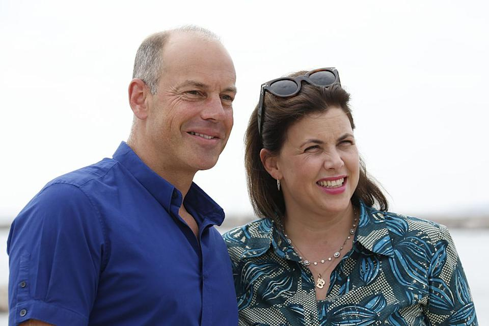 Phil Spencer and Kirstie Allsopp have been delivering home buyers advice on Location, Location, Location for 20 years, pictured in 2015. (Getty Images)