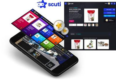 The Scuti eCommerce market is accessed through any game that supports Scuti and allows brands to market, sell and send directly to gamers.
