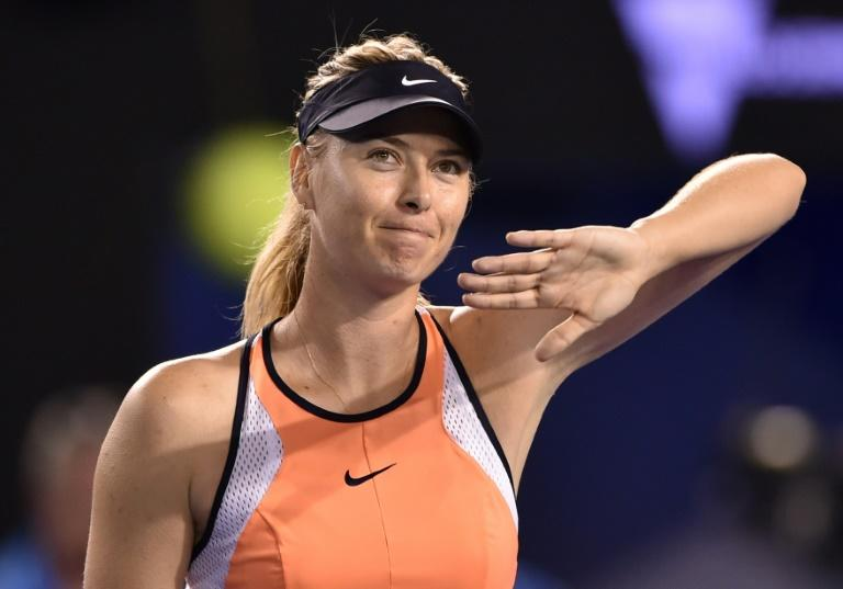 Sharapova gets ready for post- ban debut