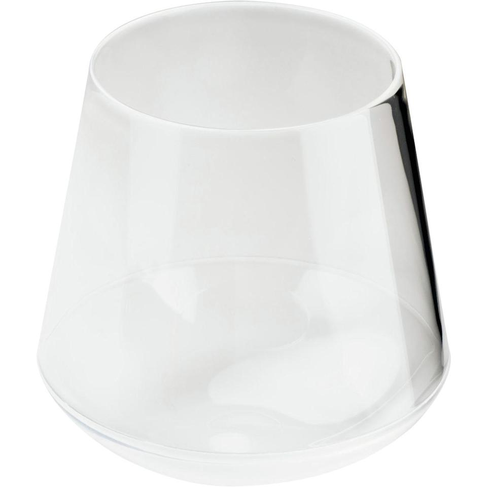 "<h3>Outdoor Wine Glasses</h3> <br>You're <em>obviously </em>going to be packing the aforementioned cooler with plenty of rosé, so you better have some wine glasses that were made for outdoor use. These sleek, BPA-free ones have a weighted bottom to prevent spillage. <br><br><strong>GSI Outdoors</strong> Stemless Wine Glass, $, available at <a href=""https://go.skimresources.com/?id=30283X879131&url=https%3A%2F%2Fwww.backcountry.com%2Fgsi-outdoors-stemless-wine-glass"" rel=""nofollow noopener"" target=""_blank"" data-ylk=""slk:Backcountry"" class=""link rapid-noclick-resp"">Backcountry</a><br>"