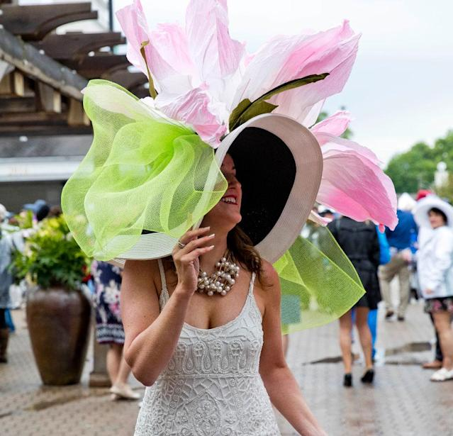 <p>If only there were other days of the year she could wear it. (Photo: Jesse Caris/Eclipse Sportswire/Getty Images) </p>