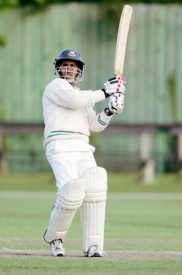 Ashraful burst onto the international cricket scene just a year after Bangladesh was controversially drafted into the game's elite Test club, and was seen as the country's biggest hope when he cracked a century against Sri Lanka at the debut. That century, against an attack led by the mercurial Muttiah Muralitharan in September 2001, made him an instant star at the age of 16 and earned him a rare record in Test cricket's nearly 150-year history.