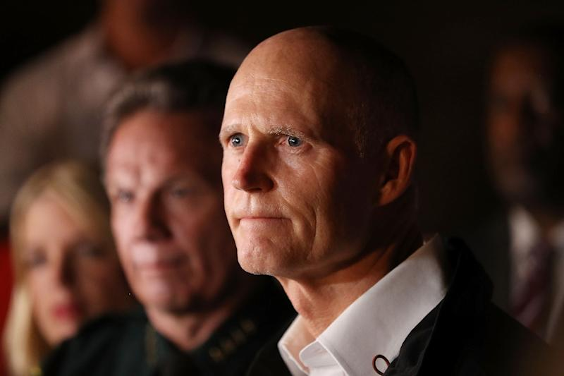 Florida Governor Rick Scott announced plans to station a police officer at every public school in the state