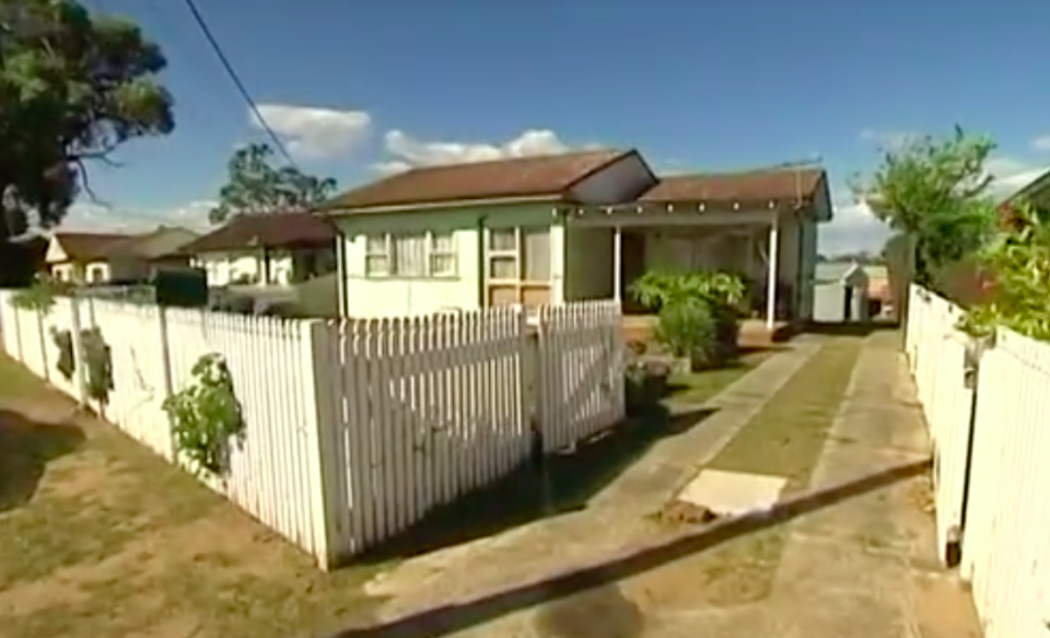 Ms Farrelly bought a 1960s fibro house in 2008. Source: 7 News