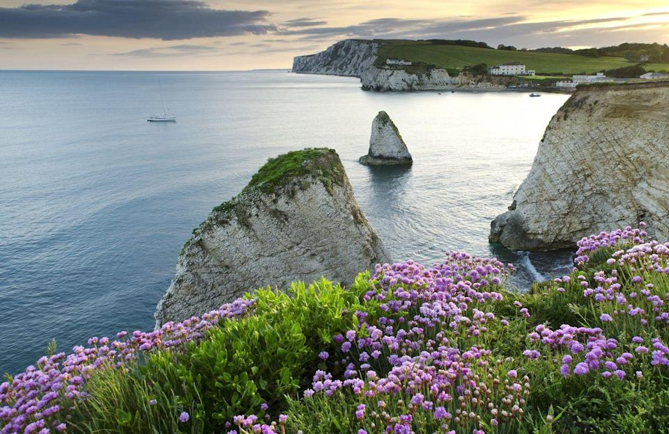 <p>The Isle of Wight has been crowned the most beautiful British island, with thousands of Instagram uploads each year. While there might not be many people travelling there at the moment, it is famous for its mild climate, coastal scenery and verdant landscape of fields. </p>