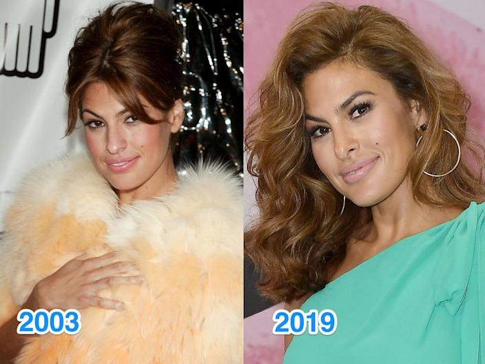 eva mendes then and now