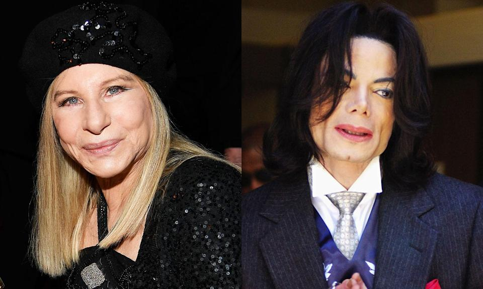 Barbra Streisand weighs in on Michael Jackson allegations. (Photo: Getty Images)