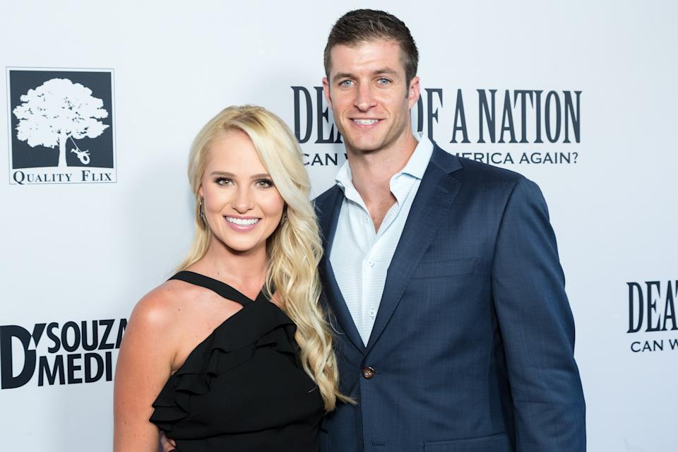 Tomi Lahren's fiancé, Brandon Fricke, is running for office. (Photo: Greg Doherty/Getty Images)