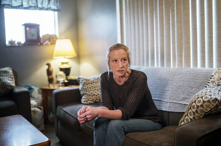 Michelle Schwartzmier talking about her daughter, Casey Schwartzmier, who died following a heroin overdose. (Photo: AP Images)