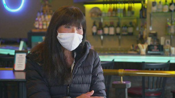 PHOTO: Restaurant Owner Young Johnson talks about why she voted for Joe Biden this election & what makes Clallam county so independent. (ABC News)