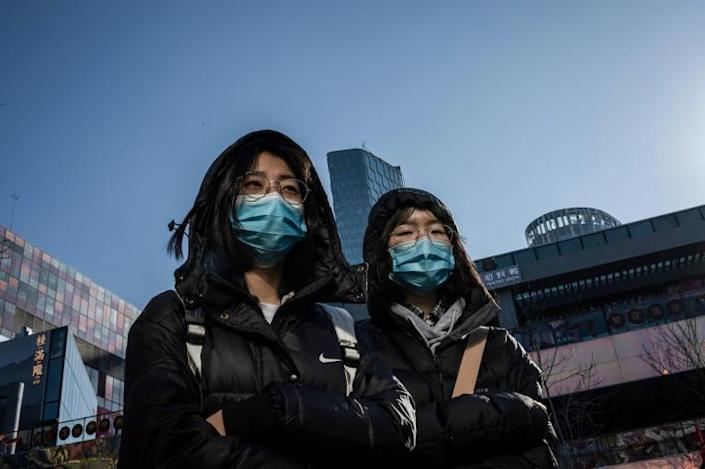 Since China reported a new coronavirus at the end of December, the SARS-like virus has infected more than 500 and killed 17 (AFP Photo/NICOLAS ASFOURI)