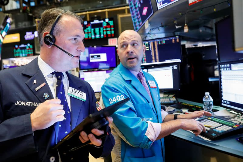 Global shares inch to new highs on trade hopes; dollar little changed