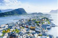 """<p><a class=""""link rapid-noclick-resp"""" href=""""https://www.countrylivingholidays.com/tours/amsterdam-norway-fjords-cruise-hairy-bikers"""" rel=""""nofollow noopener"""" target=""""_blank"""" data-ylk=""""slk:VISIT ALESUND WITH THE HAIRY BIKERS"""">VISIT ALESUND WITH THE HAIRY BIKERS</a></p>"""