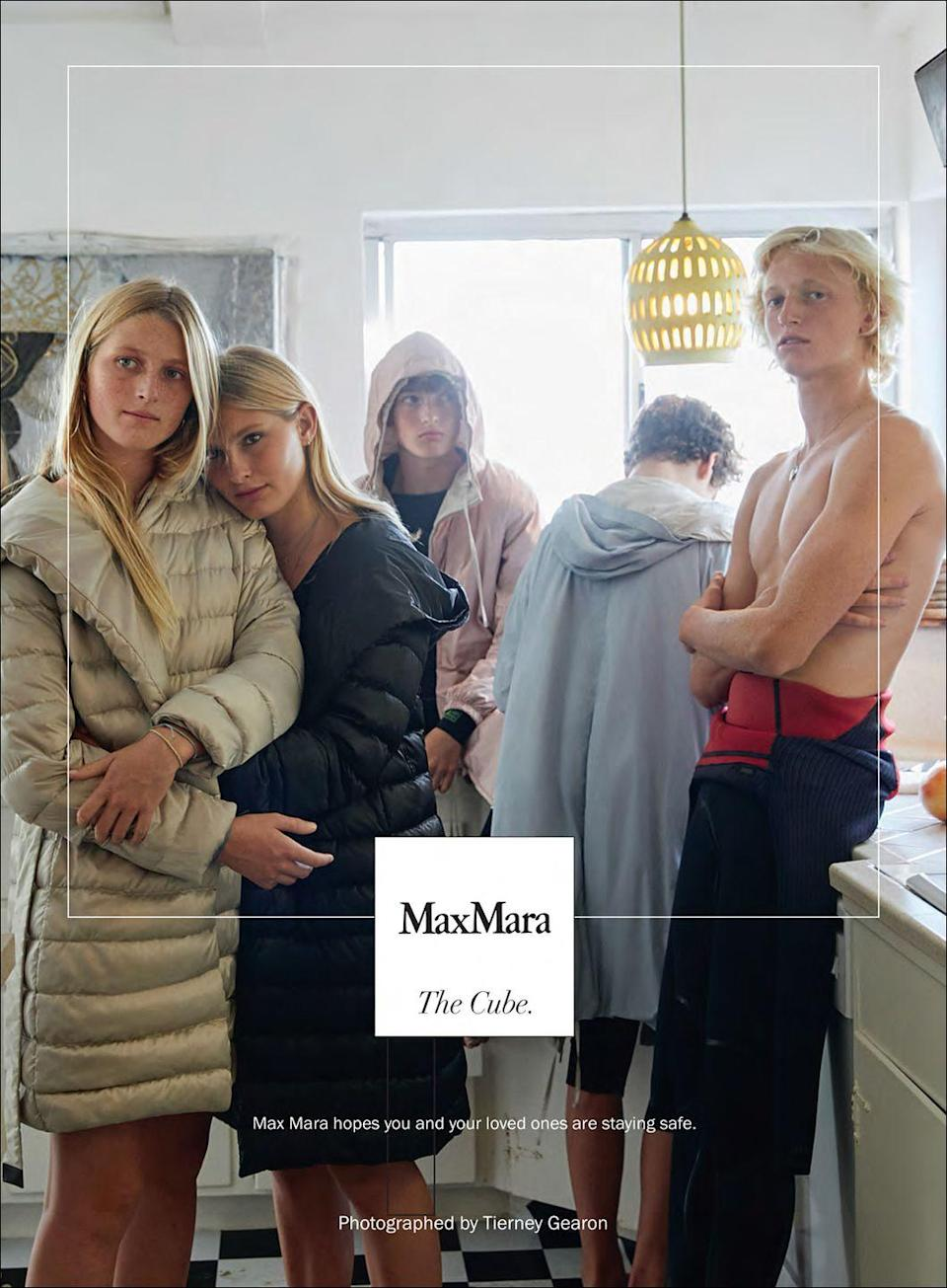 <p>Max Mara hopes you and your loved ones are staying safe.</p>