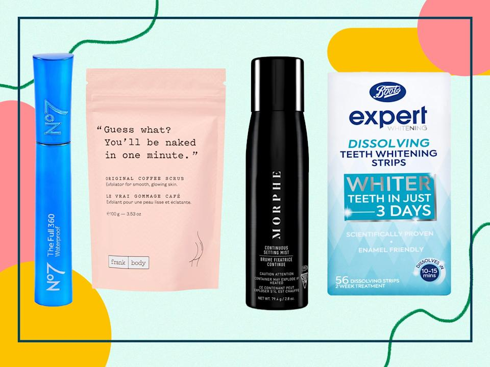 <p>Bag a bargain on a new moisturiser, body scrub or teeth-whitening kit</p> (The Independent)