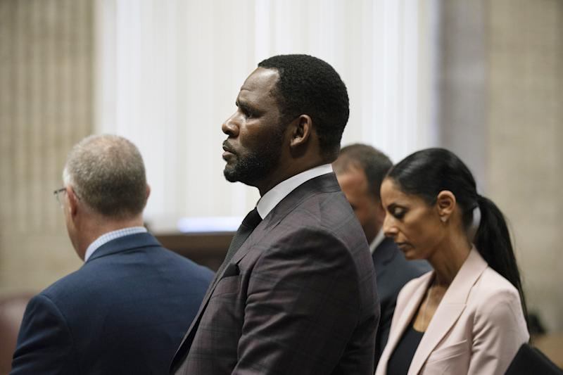 Lifetime is following up its influential documentary on R. Kelly, seen here in a Chicago courtroom in June, with another one, the four-hour 'R. Kelly: The Aftermath.'